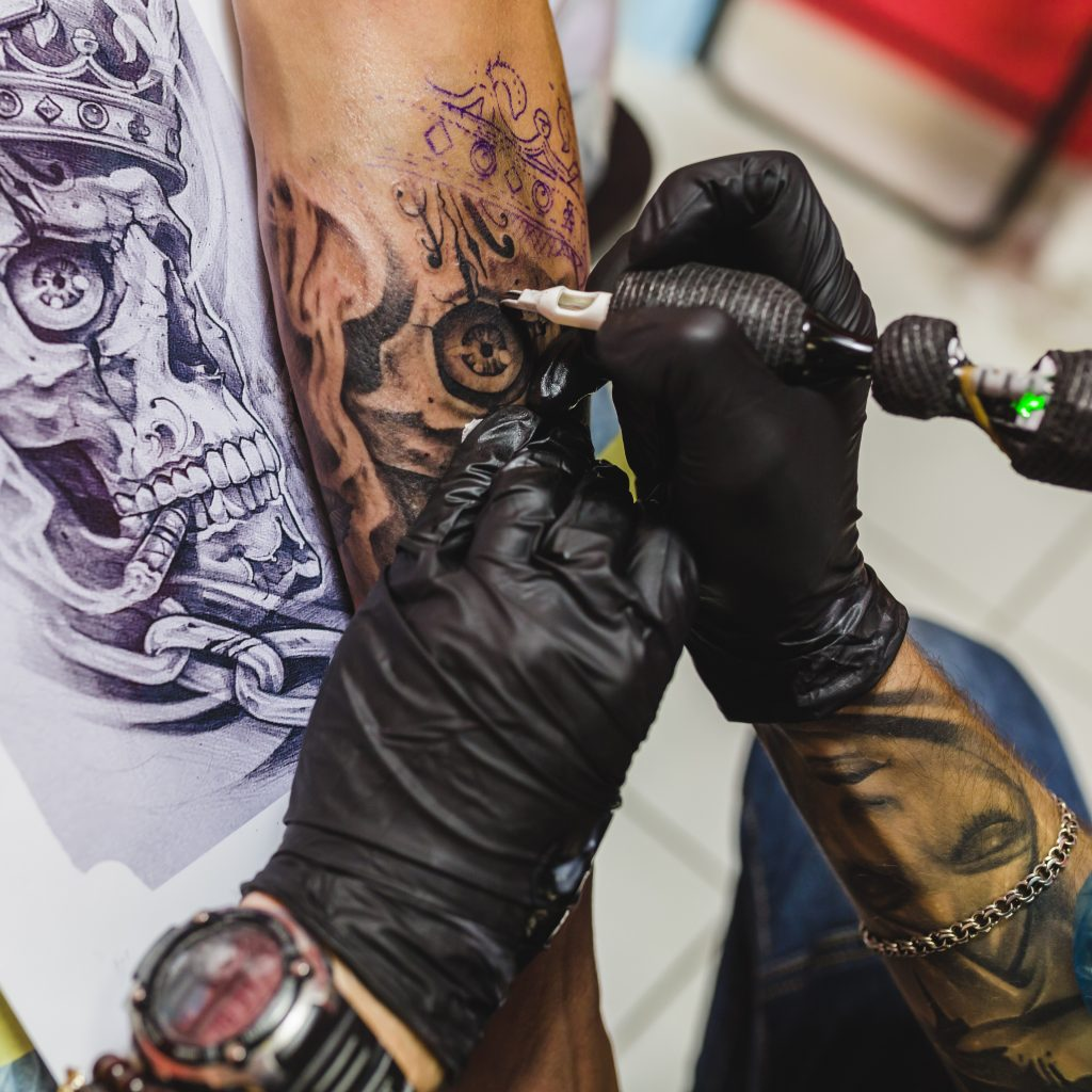 Tattoo in Corona Covid-19 Zeiten